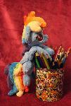 BBB Rainbow Dash Plushie