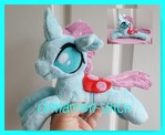 mlp plushie commission Occellus completed
