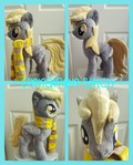 mlp plushie Derpy Hooves Available