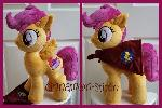 mlp plushie Cutie Mark Crusader Scootaloo