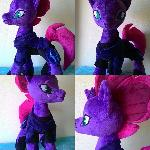 mlp plush-Tempest Shadow
