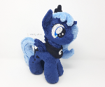 Handmade Filly Princess Luna Plushie