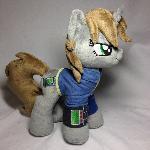 Plushie Littlepip - Fallout Equestria