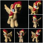 Plush Sunset Shimmer Alicorn