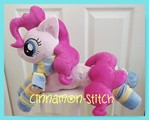 mlp plushie PINKIE PIE commission