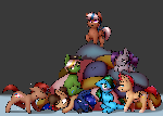 Pony Pile Ych Finished