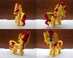MLP Sunset Shimmer Handmade Plush
