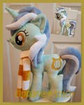mlp plushie commission Lyra Heartstrings