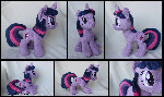 *FOR SALE* - Twilight Sparkle Custom Plush