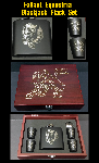 **AUCTION** Blackjack Flask Set