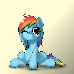 Dashie half awake