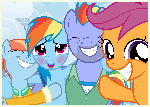 Family Snapshots IV - Rainbow Dash