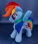 Rainbow Dash MLP plushie