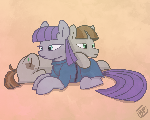 Maud Pie and Mudbriar