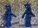 Lifesize anthro Princess Luna plushie - no dress