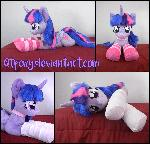 Lifesize 45in Twilight Sparkle plush V2