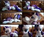 Lifesize Rarity plush