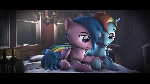 Dashi and Firefly [SFM PONY] : DASH ACADEMY