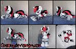 55 inch Lifesize Blackjack plush
