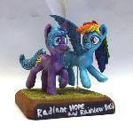 MLP:FIM Radiant Hope and Rainbow Dash