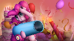 Pinkie Pie Splash Art
