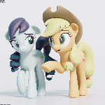 Applejack Conversion Test Render