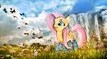 Ponies in Socks Redone - Fluttershy