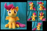 Sitting Scootaloo