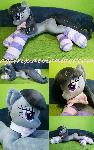 Life size (laying down) Octavia plush