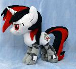 Blackjack Plushie :Commission: