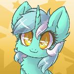 Commission - Lyra Headshot