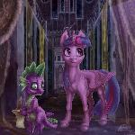 Twilight with Spike