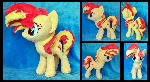 Sunset Shimmer Plushie :Commission:
