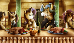 Fanart - MLP. The Whitehoof Society