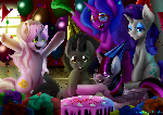 Commission: Birthday Party!
