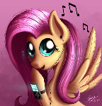 Fluttershy loves her song