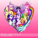 My Little Pony fanart - Hearts and Friends