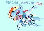 RainbowDash mecha musume(DesignTest)