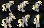 Derpy Hooves Plush (Nightmare Night) .: ON ETSY :.