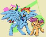 Rocking With Best Pony