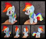#003b - Rainbow Dash Mini