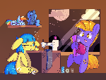 MLPFiM OC: Sewing night