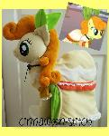 mlp plushie commission CARROT TOP