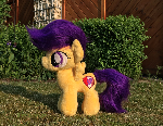 Handmade Voluminous Scootaloo Plushie