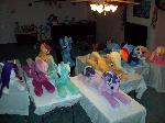 Life size plush stable