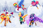 Snow war