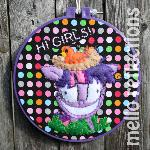 Twilight Sparkle Embroidery Hoop