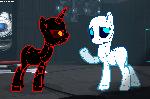 Art Trade - Portal Ponies