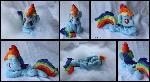 Baby Rainbow Dash Custom Plush