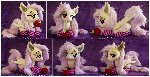 Laying Flutterbat Plush